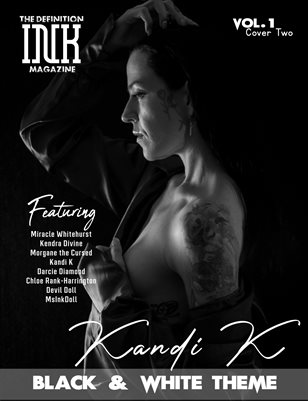 TDM INK Kandi K in Black&White theme Vol.1 Cover2