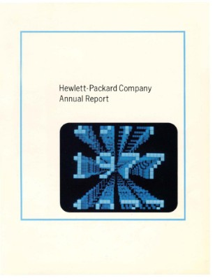 HP Annual Report 1977