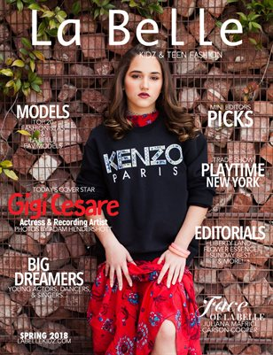 La Belle Kidz & Teen Fashion / Spring 2018 ( Los Angeles Cover )