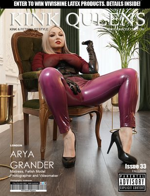 KINK QUEENS MAGAZINE | ISSUE 33 | FALL 2020