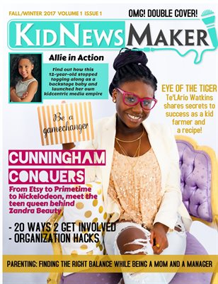 KidNewsMaker Spring/Summer 2017