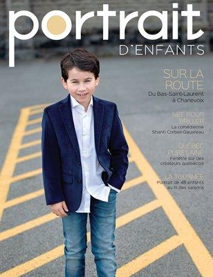 Magazine Portrait d'enfants - Version personnalisé - SAMUEL