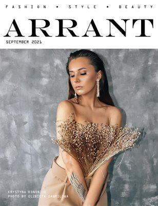 ARRANT magazine (September'21)