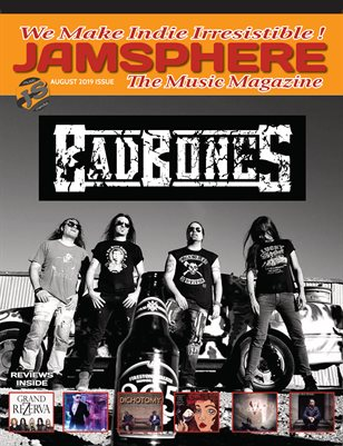 Jamsphere Indie Music Magazine August 2019