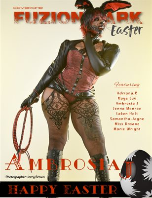 Fuzion Dark: Ambrosia J Easter Theme Vol.3 Cover 1