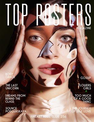 TOP POSTERS MAGAZINE- FINEART APRIL(vol 256)