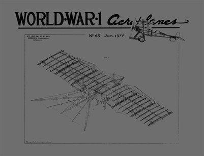 WW1 Aero #63 - June 1977