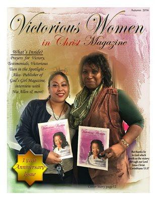 Victorious Women in Christ Magazine *Autumn 2016