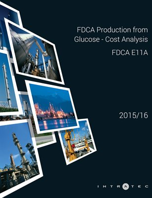 FDCA Production from Glucose - Cost Analysis - FDCA E11A
