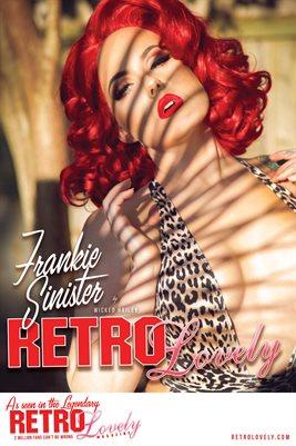 Frankie Sinister Cover Poster