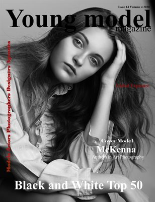 Young Model Magazine Issue 14 Volume 4 2020 BW TOP 50