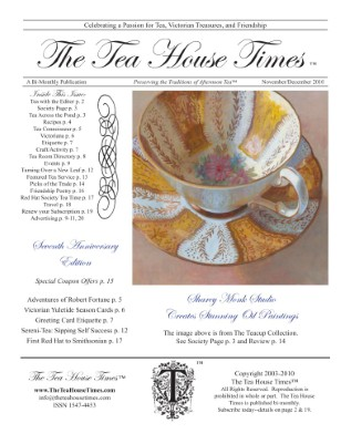 The Tea House Times Nov/Dec 2010 Issue