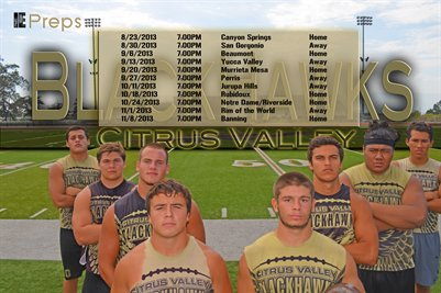Citrus Valley Schedule