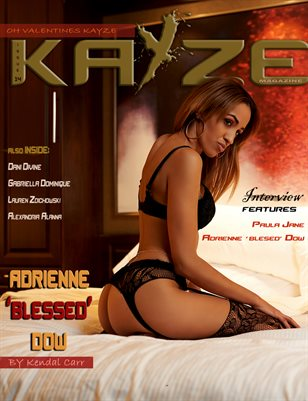 Kayze Magazine issue 14 (ADRIENNE DOW)