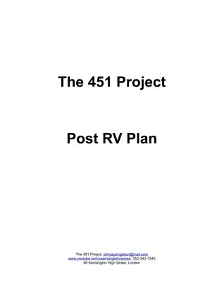 Post RV Plan