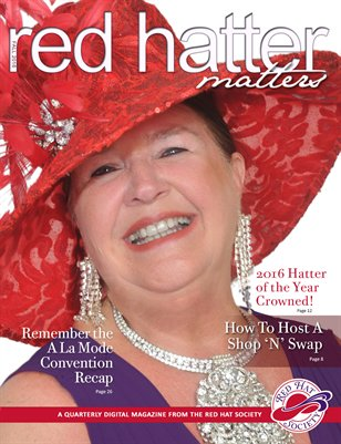 Red Hatter Matters, Fitness Issue, Fall 2016