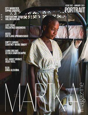 MARIKA MAGAZINE PORTRAIT (ISSUE 552 - January)