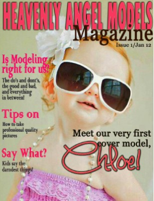Heavenly Angel Model Magazine