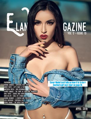 Elan Vital Magazine April 2018 Lexii Cover