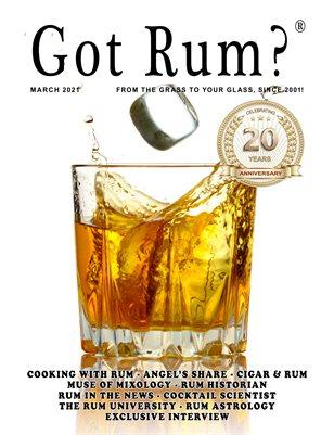 """""""Got Rum?"""" March 2021"""