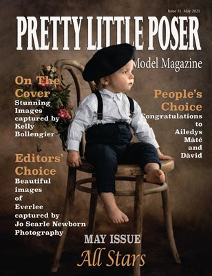 Pretty Little Poser Model Magazine Team - Issue 51 - All Stars - May 2021