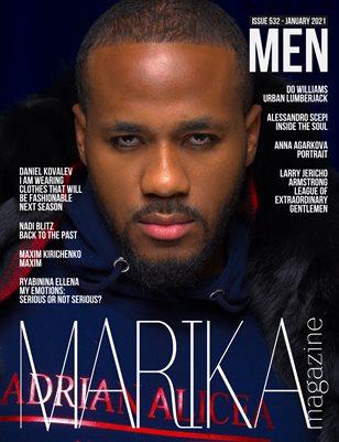 MARIKA MAGAZINE MEN (ISSUE 532 - January)