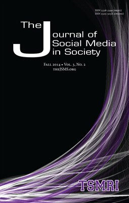 The Journal of Social Media in Society Vol. 3 No. 2