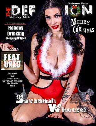 TDM Savannah Whetzel Xmas Issue 4 cover1