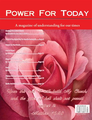 Power For Today Magazine, May 2010