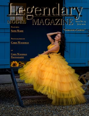 Issue No. 13 - Gorgeous Gowns - Legendary Model Magazine