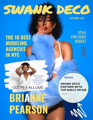 "Swank Deco Magazine Sept. 19"" Issue"