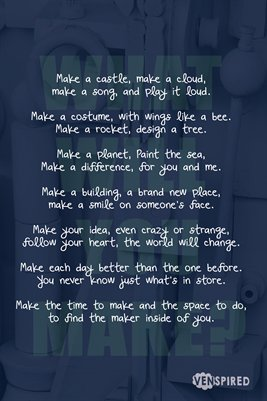 MakerSpace: What Will You Make?