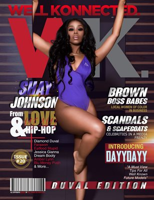 Shay Johnson Cover Duval issue 20