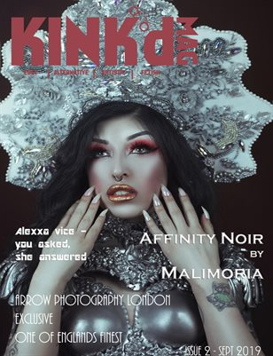Kink'd Mag Issue 2 Sept 2019 Affinity Noir by Malimoria