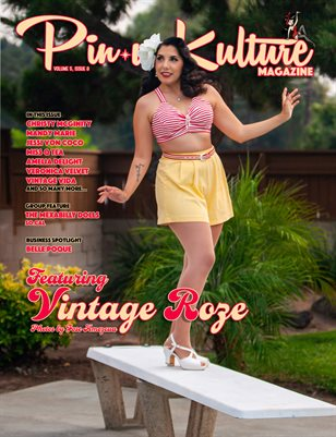 Pinup Kulture Magazine Volume 5, Issue 8-September 2020