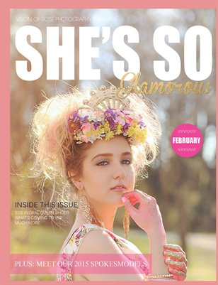 She's So Glamorous by VRP | February 2015