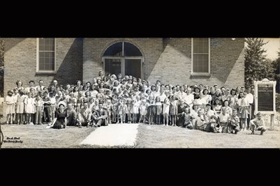 1946 Vacation Bible School, Northside Baptist Church, Almo, Calloway County, Kentucky