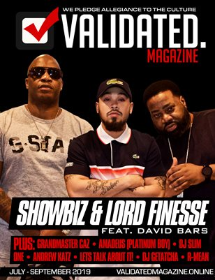 Validated Magazine ft. DITC Showbiz & Lord Finesse ft. David Bars