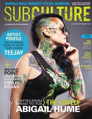 Subculture Magazine (Aug/Sept)