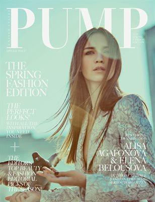 PUMP Magazine - The Spring Fashion Edition Vol. 4 - May 2018