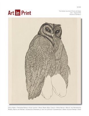Art in Print, Volume 6/Issue 2