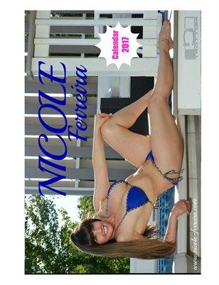 Calendar 2017 Nicole Ferreira Model