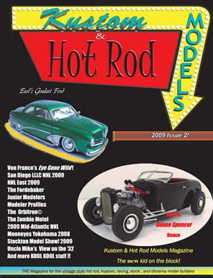 Kustom and Hot Rod Models #2