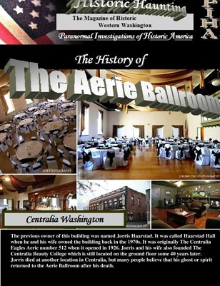 The Historic Aerie Ballroom of Centralia, Washington