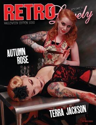 Halloween 2020 - VOL 21 – Autumn Rose & Terra Jackson Cover