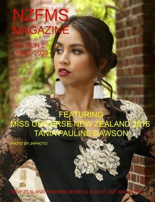 New Zealand Fashion Models Shout Out Magazine June 2020