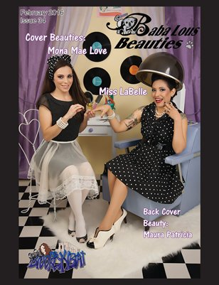 Baba Lous Beauties-Anything Pin Up Issue 34: February 2016