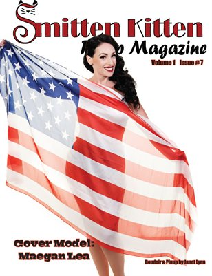 Smitten Kitten Pinup Magazine Cover 5 Maegan Lea July 2020 Issue