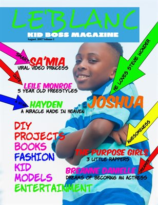 Le'Blanc Kids Magazine Vol. 1