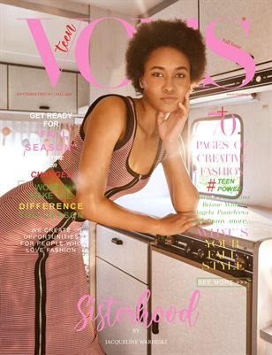 VOUS Magazine | The September Teen Edition | Vol.1 | 2021